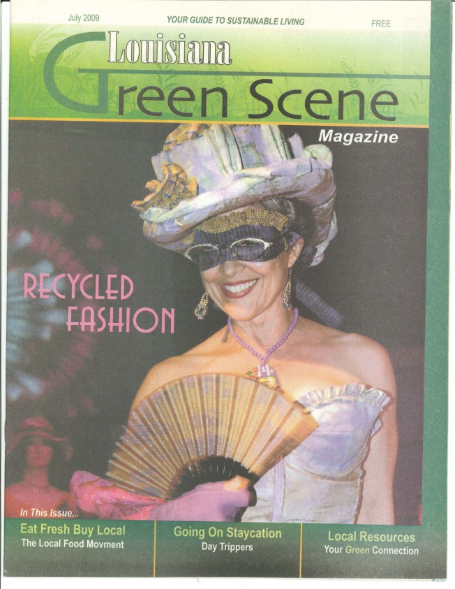LA Green Scene 2009 JULY - Cover
