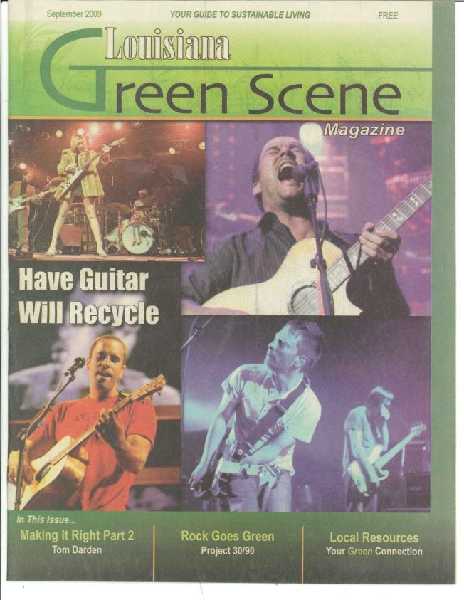 LA Green Scene 2009 SEPTEMBER - Cover
